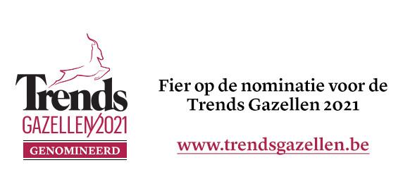 De Ceuster is genomineerd voor Trends Gazellen Limburg 2021