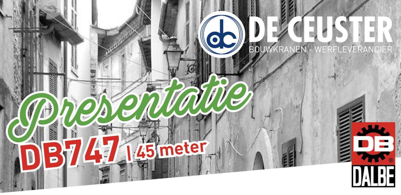 Italian style prelaunch Dalbe DB747 De Ceuster