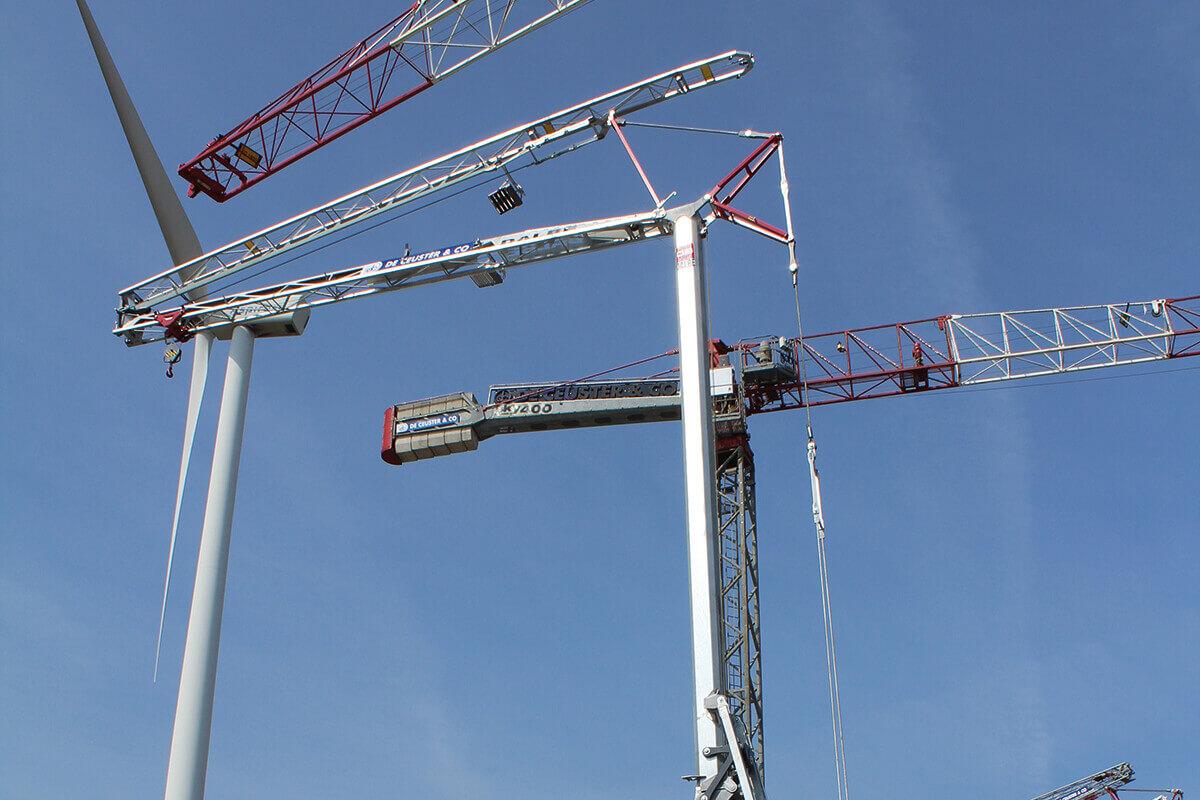 DB20 snelmontage bouwkraan De Ceuster & Co