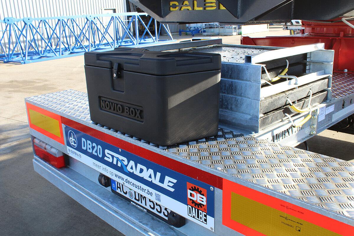 DB20 Stradale supermobiele snelmontage bouwkraan De Ceuster & Co 11