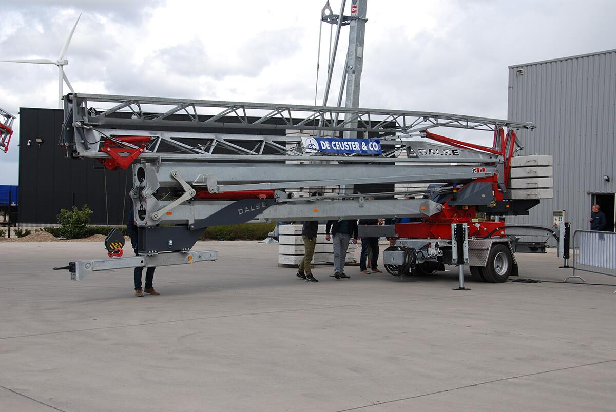 DB20 Stradale supermobiele snelmontage bouwkraan De Ceuster 01