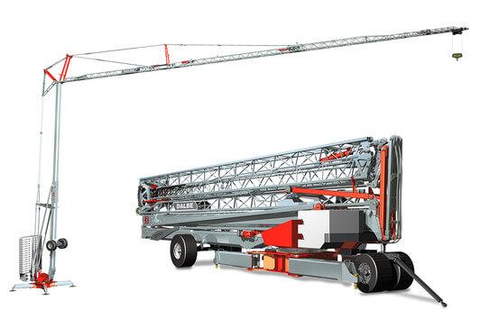 preview DB747 Gru Dalbe De Ceuster bouwkranen