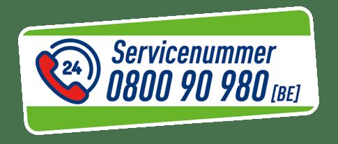 servicenummer De Ceuster 0800 90 980