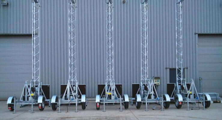 Ascenseurs de chantier dans la production propre De Ceuster & Co.