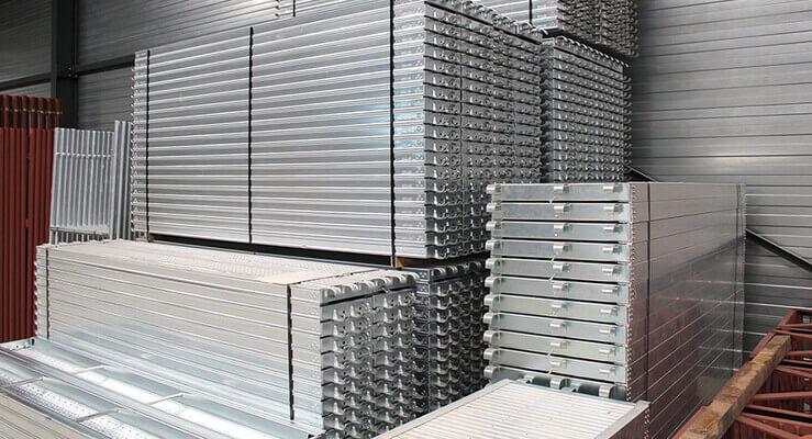 De Ceuster & Co fabricant de racks de construction racks et accessoires