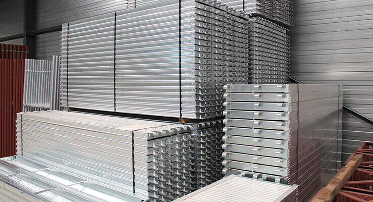 De Ceuster & Co bouwstellingen fabrikant stellingen en toebehoren